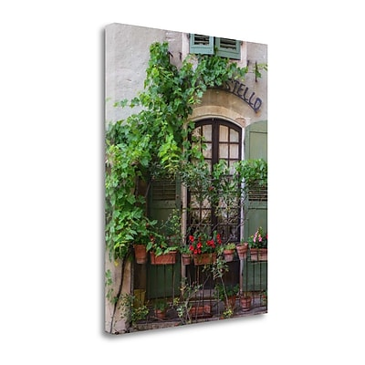 Tangletown Fine Art 'Moustiers Sainte Marie' Photographic Print on Canvas; 21'' H x 16'' W