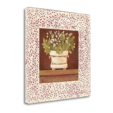 Tangletown Fine Art 'Petit Fleur IV' Graphic Art Print on Canvas; 20'' H x 20'' W