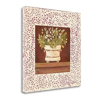 Tangletown Fine Art 'Petit Fleur IV' Graphic Art Print on Canvas; 23'' H x 23'' W