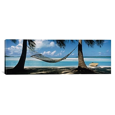 East Urban Home Aleck Bay Cook Islands South Pacific Photographic Print on Wrapped Canvas