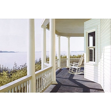 East Urban Home Carolina Overlook Photographic Print on Wrapped Canvas; 8'' H x 12'' W x 0.75'' D