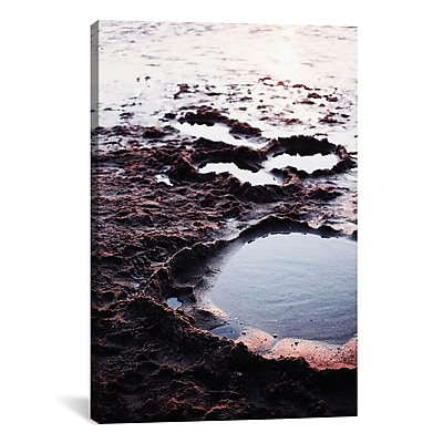 East Urban Home Coast and Sand Photographic Print on Wrapped Canvas; 18'' H x 12'' W x 1.5'' D