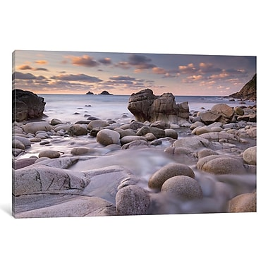 East Urban Home Porth Nanven Photographic Print on Wrapped Canvas; 12'' H x 18'' W x 0.75'' D