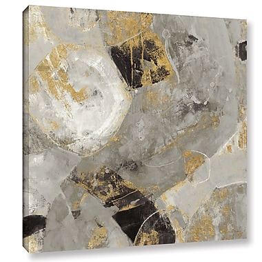 Varick Gallery 'Painted Desert Neutral' by Albena Hristova Painting Print on Wrapped Canvas