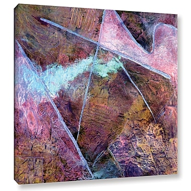 Varick Gallery 'Catharsis I' By Herb Dickinson Painting Print on Wrapped Canvas