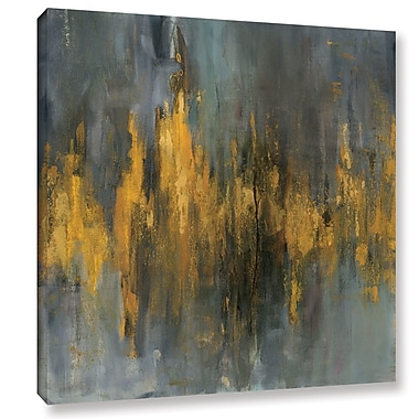 Varick Gallery 'Abstract' By Danhui Nai Painting Print on Wrapped Canvas; 14'' H x 14'' W x 2'' D