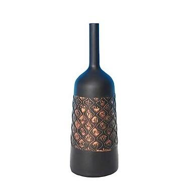 Bloomsbury Market 23'' Decorative Resin Floor Vase; 19.5 '' H x 6.5'' W x 6.5'' D