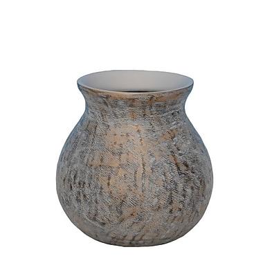 Bloomsbury Market 11'' Decorative Resin Table Vase; 11.5'' H x 11.5'' W x 11.5'' D