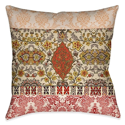 Bloomsbury Market Brielle Outdoor Throw Pillow; 18'' x 18''