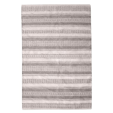 Bungalow Rose Colliers Hand-Woven Taupe Indoor/Outdoor Area Rug; 9' x 12'