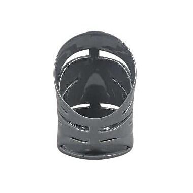 Ebern Designs Decorative Ceramic Votive Holder; Charcoal