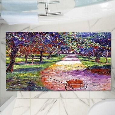 East Urban Home David Lloyd Glover's Memory Foam Bath Rug; 24'' W x 36'' L