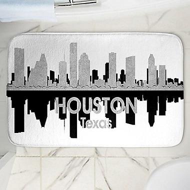 East Urban Home Angelina Vick's Houston Memory Foam Bath Rug; 24'' W x 36'' L