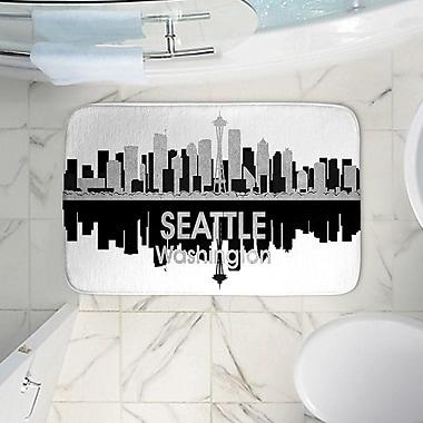 East Urban Home Angelina Vick's Memory Foam Bath Rug; 17'' W x 24'' L