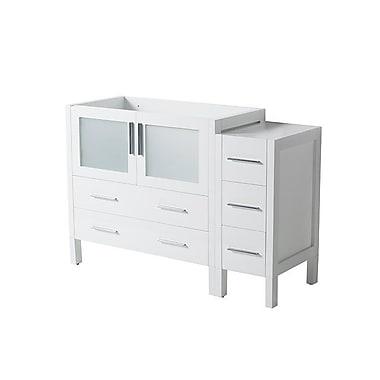 Fresca Torino 48'' Single Bathroom Vanity Base; White