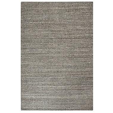 Brayden Studio Neely Hand-Woven Wool Clay Area Rug; 8' x 10'