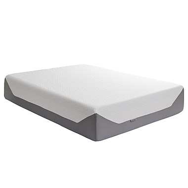 CorLiving – Matelas en mousse mémoire de 14 po Sleep Collection, fermeté moyenne, grand lit (SGH-717-Q)