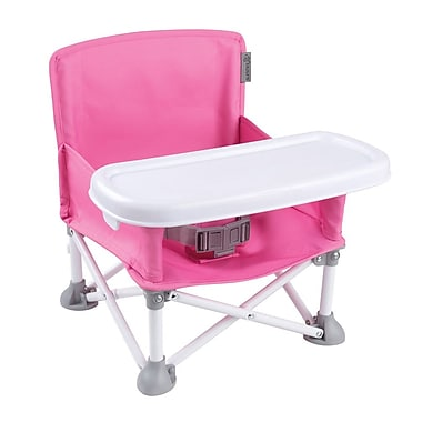 Summer Infant – Siège rehausseur portatif Pop 'n Sit, rose