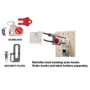 JJ – Dispositif de sécurité en crochet Scanlock, 25/pqt