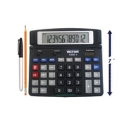 Victor 1200-4 12 Digit Desktop Display Calculator