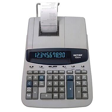 Victor – Calculatrice imprimante robuste à 10 chiffres 1530-6