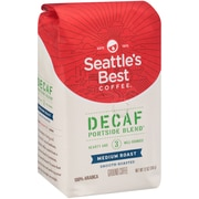 Seattle's Best Coffee® Portside Blend Ground Coffee, Decaffeinated, 12 oz. Bag