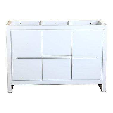Fresca Allier 48'' Single Bathroom Vanity Base; White