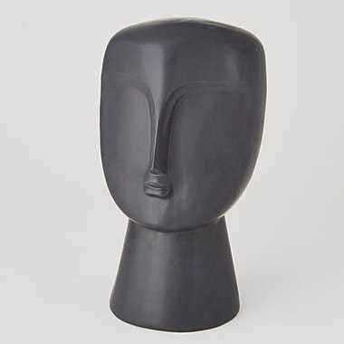 Global Views Modernist Bust; Matte White