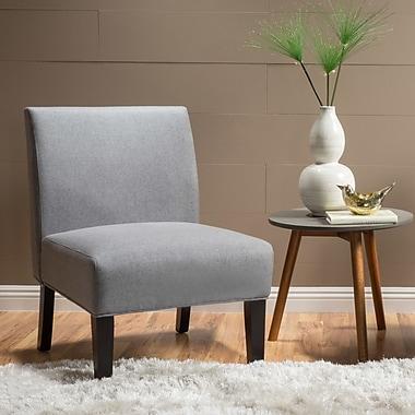 Highland Dunes Veranda Slipper Side Chair; Gray