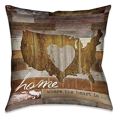 Loon Peak Brenden Outdoor Throw Pillow; 18'' x 18''