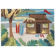 Highland Dunes Coffman Tiki Hut Doormat