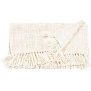 Highland Dunes Larisa Blanket; Cream