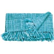 Highland Dunes Larisa Blanket; Turquoise