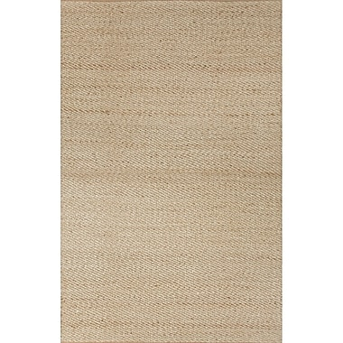 Highland Dunes Ina Beige Solid Area Rug; 2'6'' x 4'