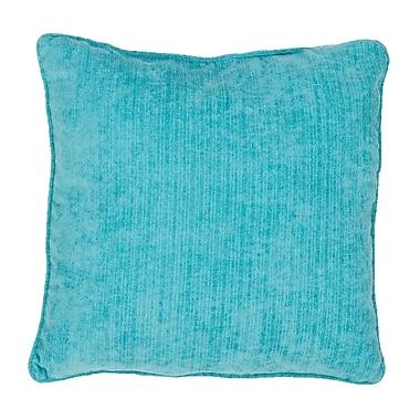 Highland Dunes Maelys Indoor/Outdoor Throw Pillow; Blue