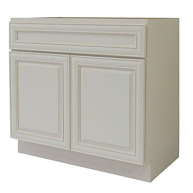 NGY Stone & Cabinet Cabinet 30'' Single Bathroom Vanity Base
