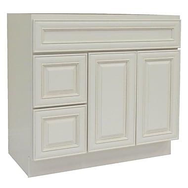 NGY Stone & Cabinet Cabinet 42'' Single Bathroom Vanity Base