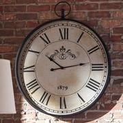 One Allium Way Oversized 31'' Round Wall Clock
