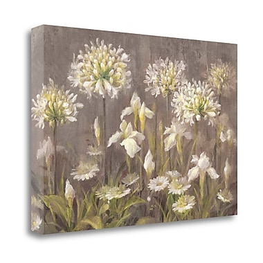 Tangletown Fine Art 'Spring Blossoms Neutral' Print on Canvas; 32'' H x 48'' W
