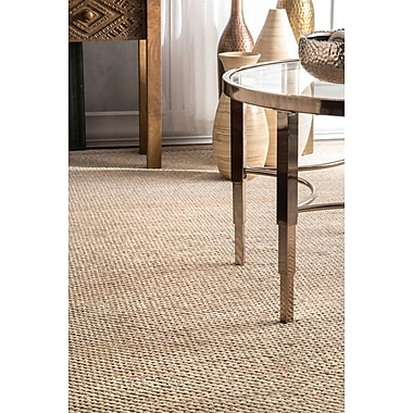 Union Rustic Parnell Brown/Green Area Rug; 5' x 8'