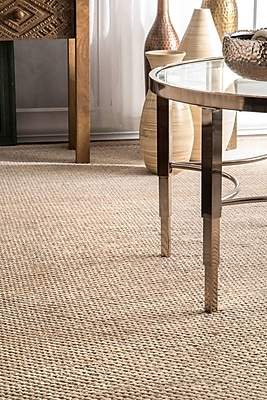 Union Rustic Parnell Brown/Green Area Rug; 9' 6'' x 13' 6''
