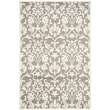 Willa Arlo Interiors Maritza Dark Grey/Beige Area Rug; 6' x 9'