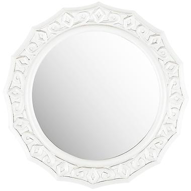 Willa Arlo Interiors Round Lace Mirror; White