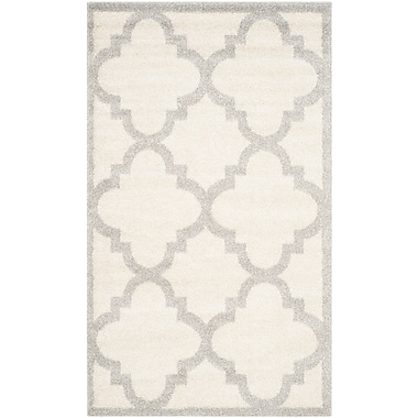 Willa Arlo Interiors Maritza Beige & Light Gray Indoor/Outdoor Area Rug; 6' x 9'