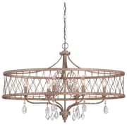 Willa Arlo Interiors Cece 6-Light Contemporary Drum Chandelier
