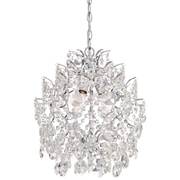 Willa Arlo Interiors Clea 3-Light Crystal Chandelier