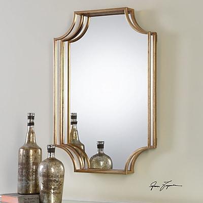 Willa Arlo Interiors Metal Accent Wall Mirror