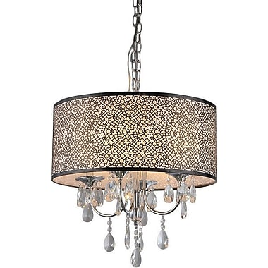 Willa Arlo Interiors Horsham 4-Light Drum Chandelier