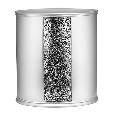 Willa Arlo Interiors Rivet Brushed Nickel Waste