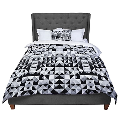 East Urban Home Nika Martinez Geometrie Comforter; Queen